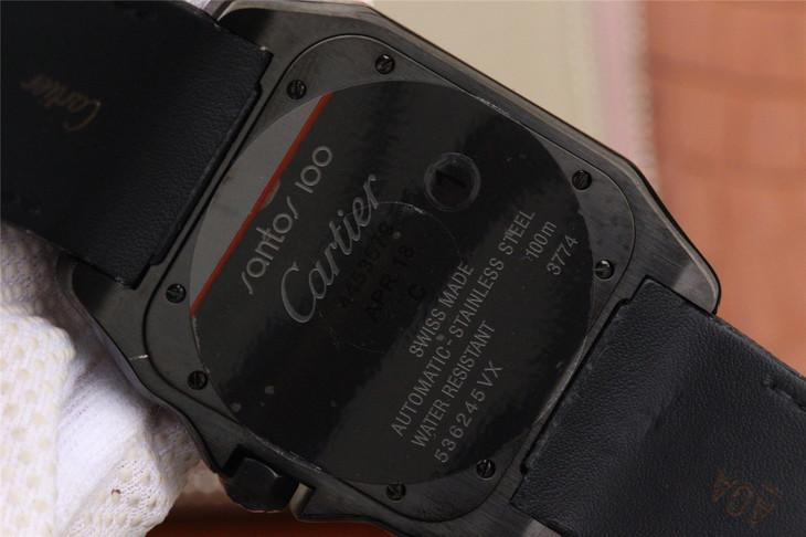 V6卡地亚山度士(桑托斯)系列WSSA0006一比一精仿男表