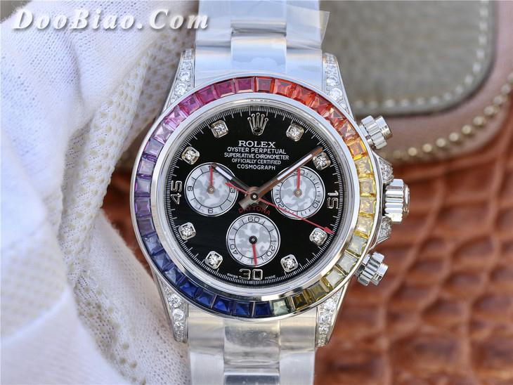 勞力士Rolex宇宙計型迪通拿系列彩虹圈116599 RBOW一比一精仿手表