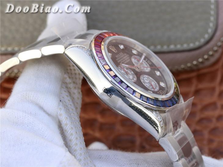 劳力士Rolex宇宙计型迪通拿系列彩虹圈116599 RBOW一比一精仿手表