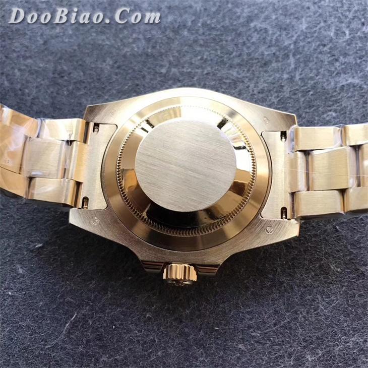 【VR厂】劳力士Rolex包金版全金蓝水鬼复刻手表