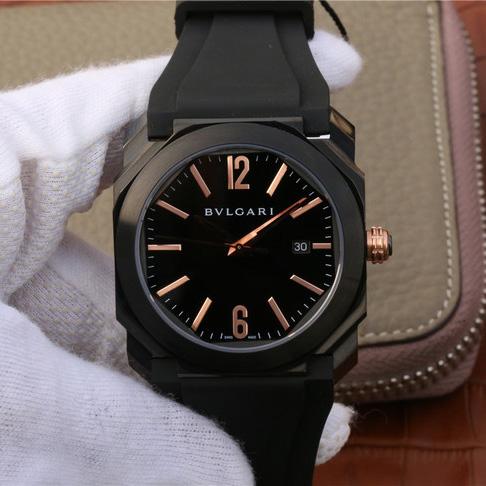 宝格丽OCTO系列102581男士一比一精仿手表