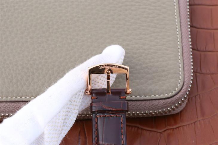 HG宝玑Marine航海系列5817男士一比一精仿手表
