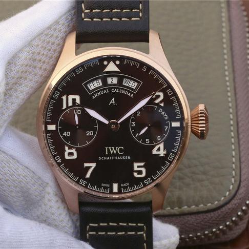 YL万国IWC大型飞行员系列IW502706年历大飞精仿手表