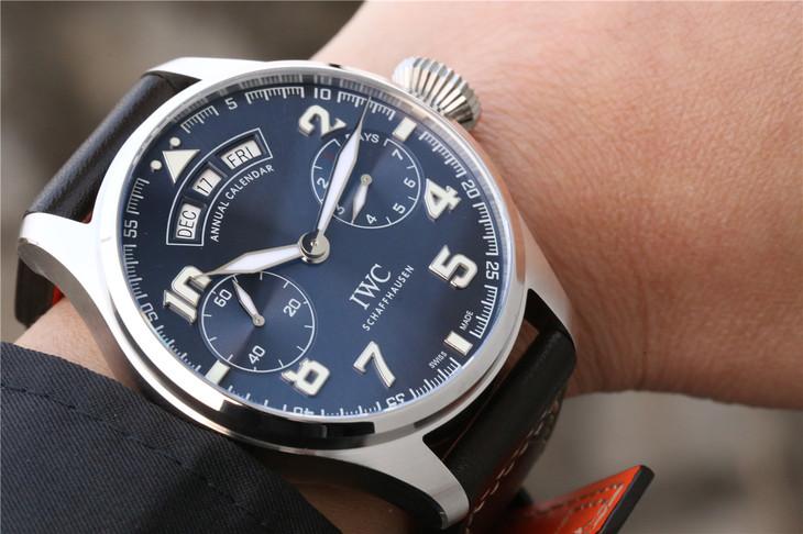 YL萬國大型飛行員系列IW502703年歷大飛一比一精仿手表