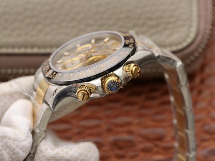 JH劳力士V7版宇宙计时全金迪通拿116508一比一复刻手表