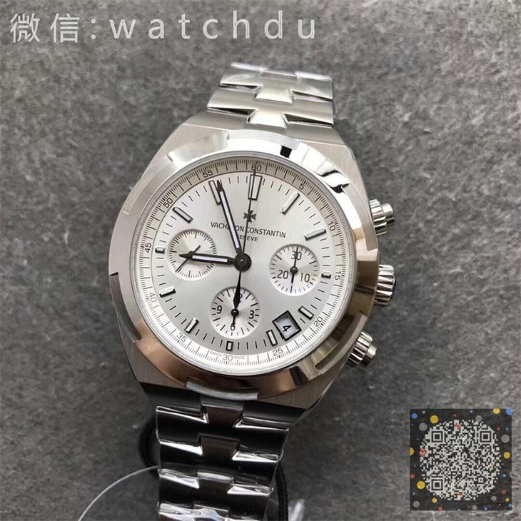 【BF厂】江诗丹顿(Vacheron Constantin)纵横四海系列白面钢带男士自动机械一比一计时手表