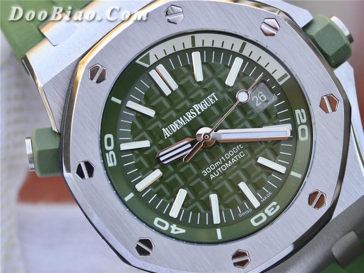 JF爱彼AP皇家橡树离岸型系列15710ST.OO.A052CA.01一比一精仿手表