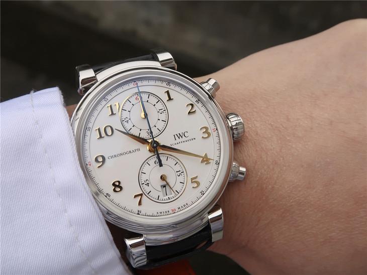 YL万国IWC达文西系列劳伦斯体育公益基金会男士精仿手表