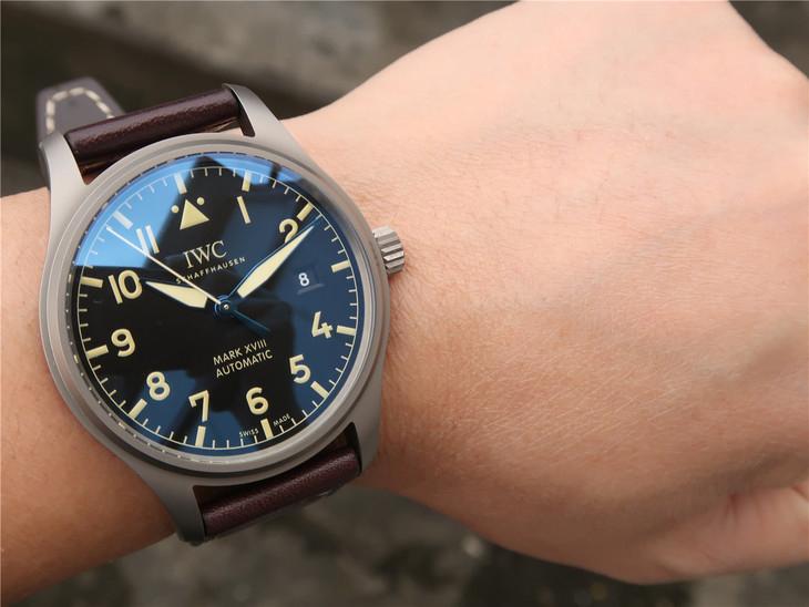 GS万国IWC飞行员系列马克十八IW327006精仿手表
