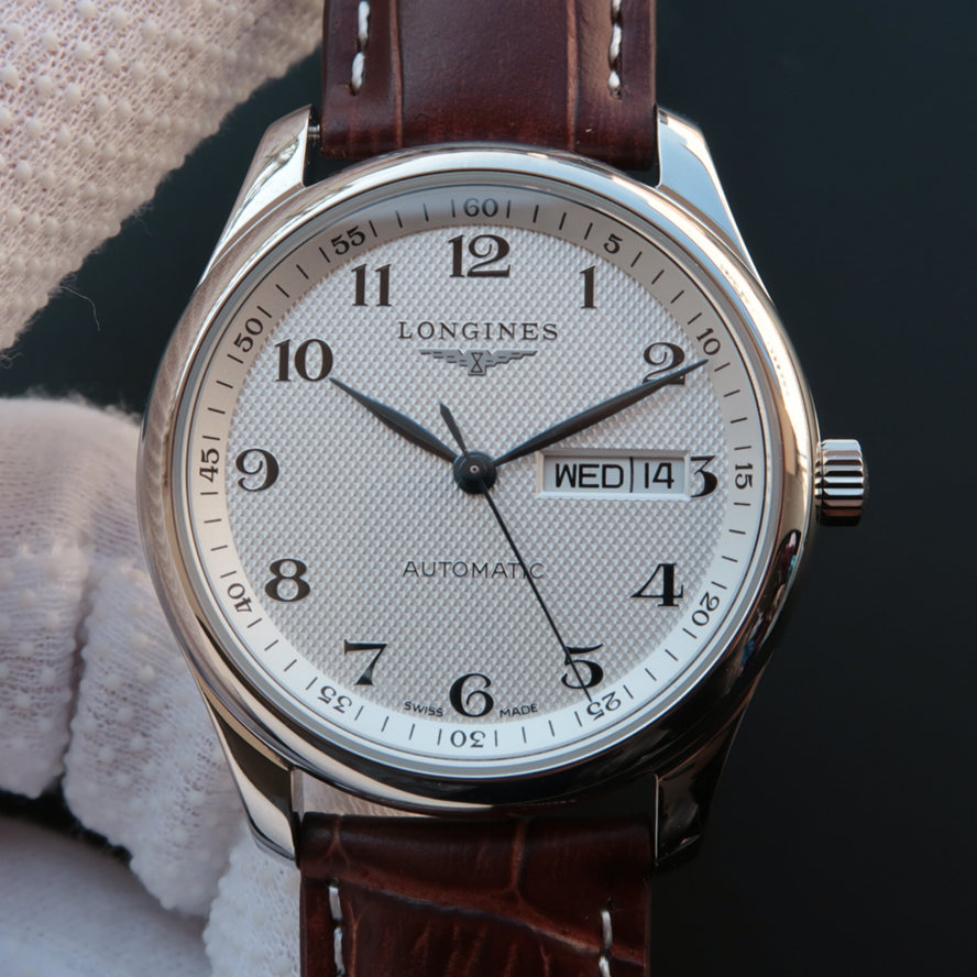 MK浪琴名匠L2.755.4.78.3双日历精仿手表