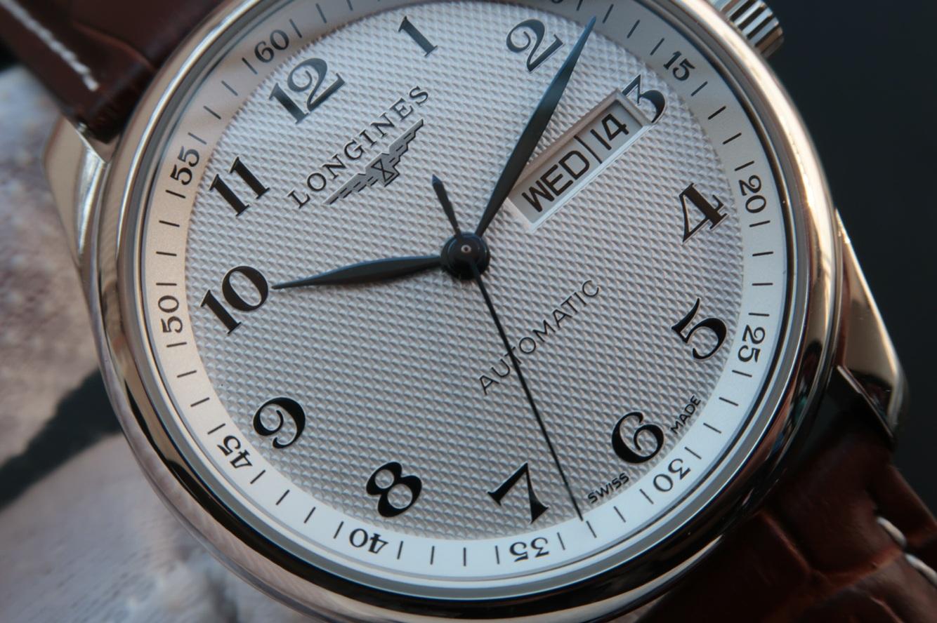 MK浪琴名匠L2.755.4.78.3雙日歷精仿手表