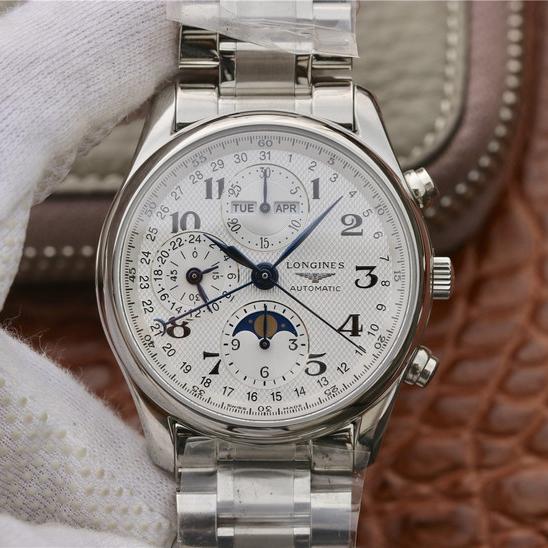 JF浪琴传统制表名匠L2.673.4.78.6男士一比一精仿手表