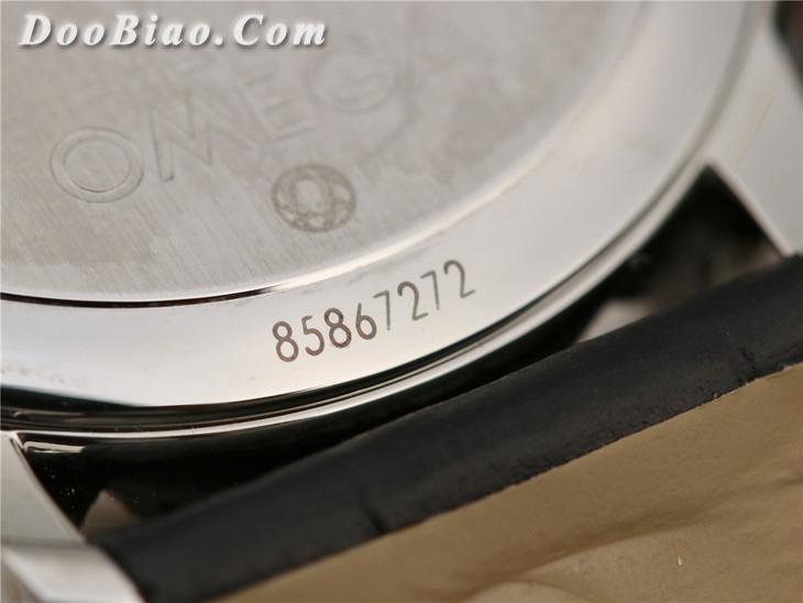 TW欧米茄碟飞系列两针半4813.40.01精仿手表