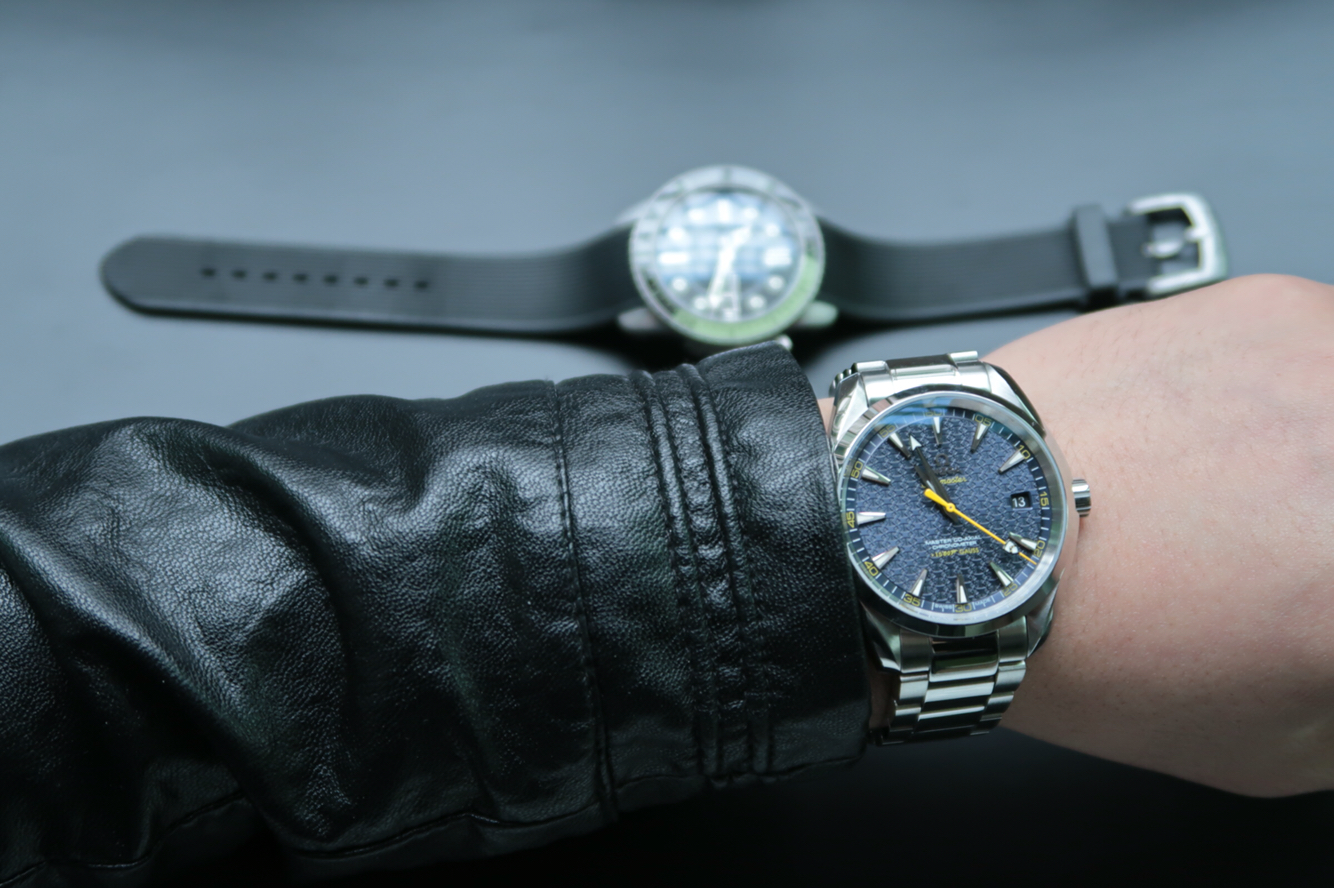 XF欧米茄海马系列007詹姆斯邦德限量版231.10.42.21.03.004一比一精仿手表