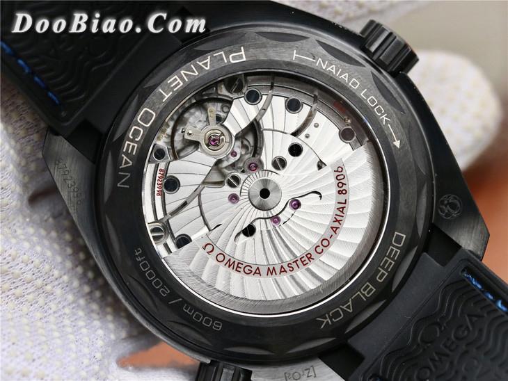 VS厂欧米茄海洋宇宙600米系列全黑陶瓷215.92.46.22.01.002精仿手表