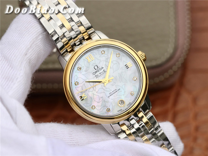MKS厂欧米茄碟飞典雅系列424.20.33.20.55.002女款一比一精仿手表