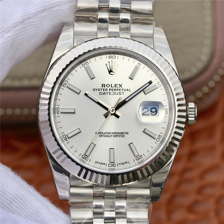 DJ劳力士日志型系列116234纪念花纹面款精仿手表