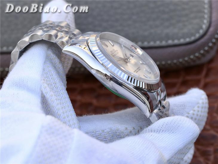 AR劳力士日志型36系列116234银盘超强904L精钢精仿手表