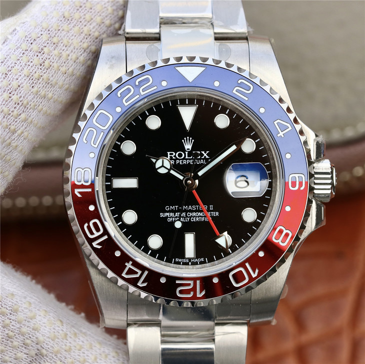 EW劳力士格林尼治型II系列(GMT-Master II)116719-BLRO一比一精仿手表