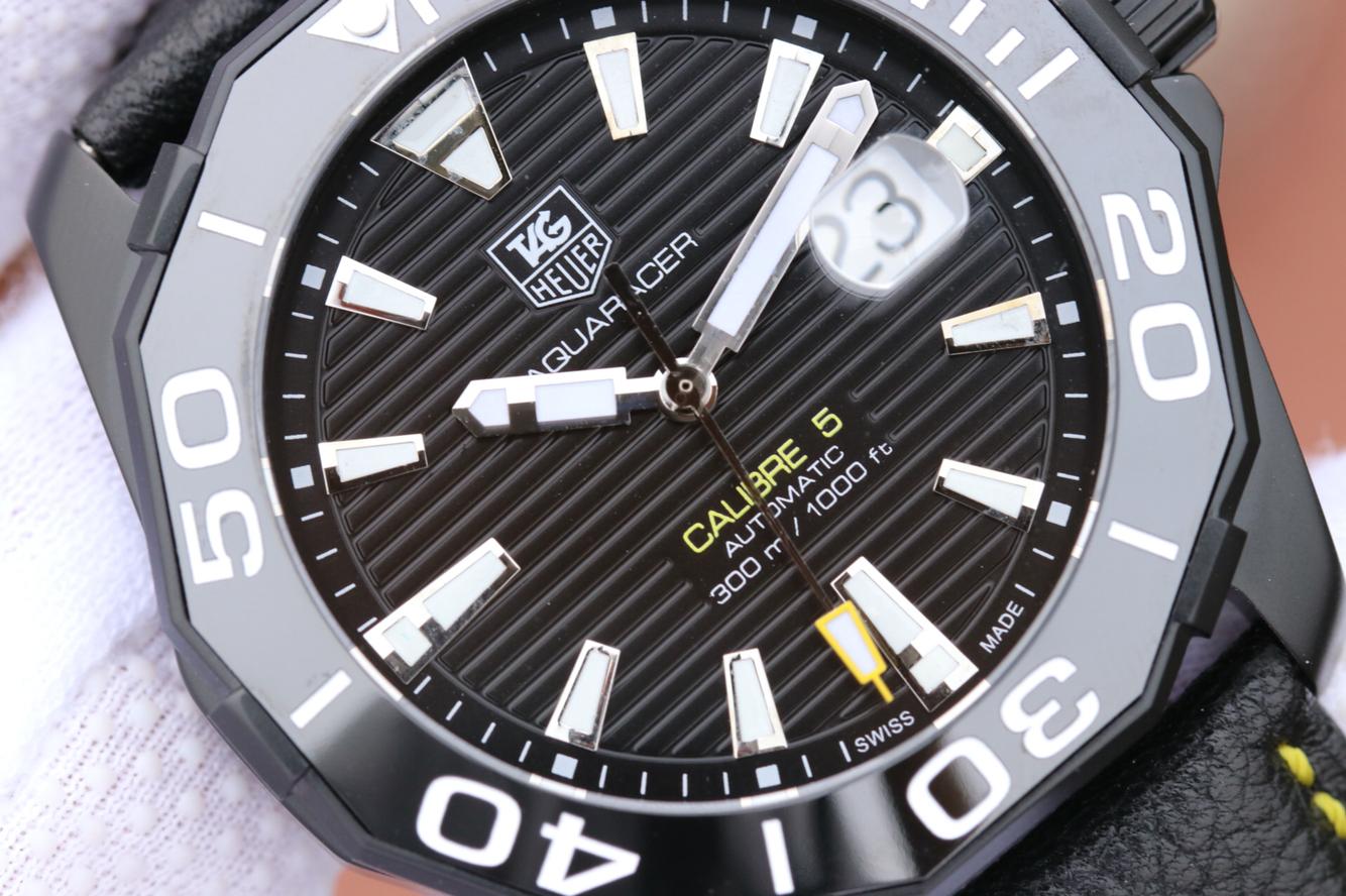 V6泰格豪雅(Tag Heuer)竞潜系列CALIBE 5精仿手表