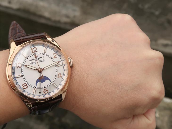 江诗丹顿VC伍陆之型系列FIFTYSIX 4000E/000R-B438一比一精仿手表